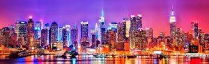 都会のきれいな夜景
