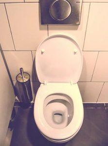 セピアのトイレ
